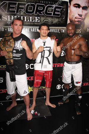 Jake Shields, Gilbert Melendez and King Mo Lawal