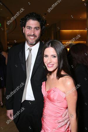 Jason Goldberg and Soleil Moon Frye