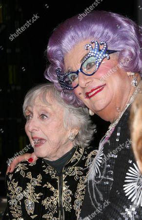 Stock Image of Celeste Holm and Dame Edna Everage
