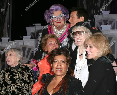 Celeste Holm, Judge Judy Sheindlin, Dame Edna Everage, Michael Feinstein, Valerie Simpson, Elaine Stritch, Judith Light