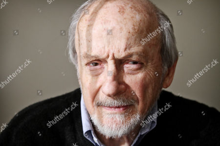 Editorial photo of EL Doctorow at home in Manhattan, New York, America - 17 Jan 2010