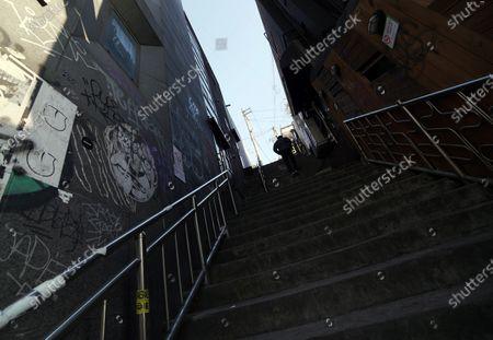 Editorial photo of Filming Locations of the TV Drama 'Itaewon Class', Seoul, South Korea - 24 Mar 2020