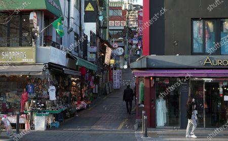 Editorial image of Filming Locations of the TV Drama 'Itaewon Class', Seoul, South Korea - 24 Mar 2020