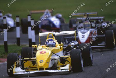 2002 British Formula Three Championship Snetterton, England. August 31st - September 1st. Round 10 winner, Heikki Kovalainen (Dallara F302 renault Sodemo), action. World Copyright: Peter Spinney/LAT Photographic