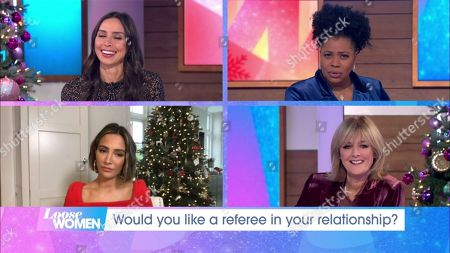Christine Lampard, Brenda Edwards, Frankie Bridge, Jane Moore
