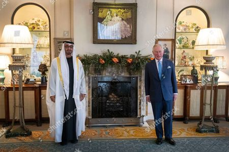 Editorial photo of UAE Crown Prince visit to UK, Clarence House, London, UK - 10 Dec 2020