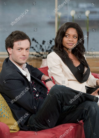 Stock Image of Brendan Patricks and Naomie Harris.