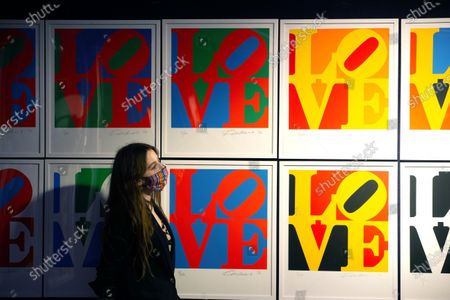 'The Book of Love' by Robert Indiana, a set of 12 screenprints in colours and 12 poems, Estimate £60,000-80,000The sale will take place at Bonhams on December 15th.