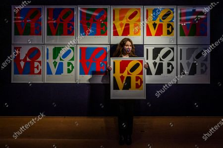 Editorial picture of Preview of Bonhams' Prints & Multiples sale., New Bond Street, London, UK - 10 Dec 2020