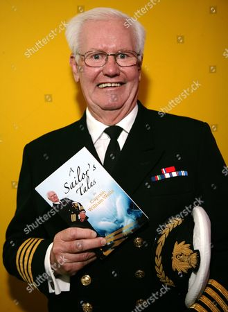 Editorial picture of Captain William Wells 'A Sailor's Tales' book launch at Waterstones, Milton Keynes, Britain - 20 Mar 2010