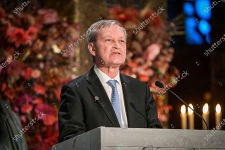 Editorial image of Nobel Prize ceremony, City Hall, Stockholm, Sweden - 10 Dec 2020