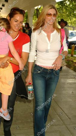 Sylvester Stallone's wife Jennifer Flavin arrives at the 14th Annual Wells Fargo Hollywood Charity Horse Show at the Los Angeles Equestrian Center in Burbank, Ca which was hosted by William Shatner