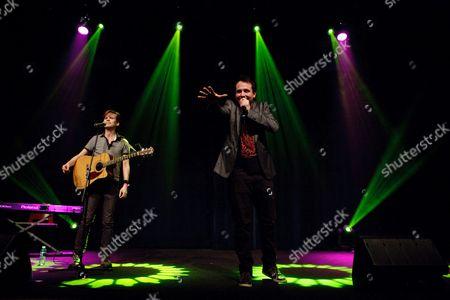 Abandoman, (L-R Rob Broderick and James Hancox) at the Auditorium