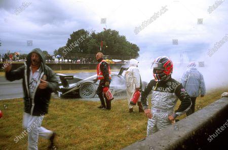 Editorial image of Le Mans, 2001 Le Mans 24 Hours, Circuit de la Sarthe, France - 12 Jun 2001