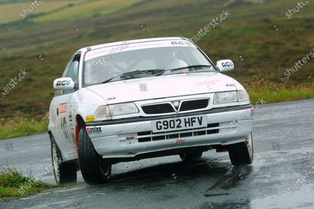 2002 British Rally Championship. Manx International Rally.  Douglas, Isle of Man. 1-3 August 2002. Tim Foster/Richard Hulme (Vauxhall Astra Sport) 7th position in the Manx Trophy Rally (& 3rd in the B11 class). Ref-02 MIR 106. World Copyright - Malcolm Griffiths/LAT Photographic