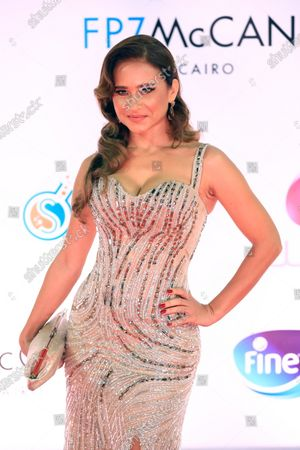 Stock Photo of Nelly Karim attends the closing ceremony of the 42nd Cairo International Film Festival (CIFF), in Cairo, Egypt, 10 December 2020. According to the organizers, the 42nd edition of the CIFF running from 02 to 10 December, will feature 16 titles on their international premieres in Cairo.