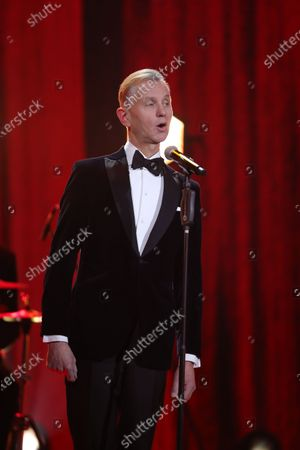 Max Raabe during the 26th Annual Jose Carreras Gala in Leipzig, Germany, 10 December 2020.