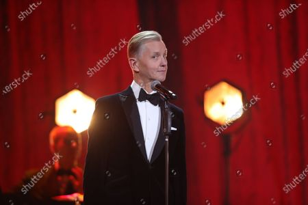 Stock Picture of Max Raabe during the 26th Annual Jose Carreras Gala in Leipzig, Germany, 10 December 2020.