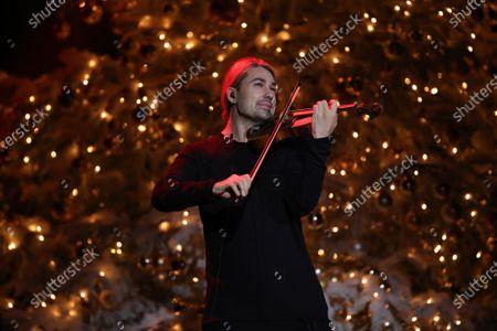 Stock Photo of David Garrett during the 26th Annual Jose Carreras Gala in Leipzig, Germany, 10 December 2020.