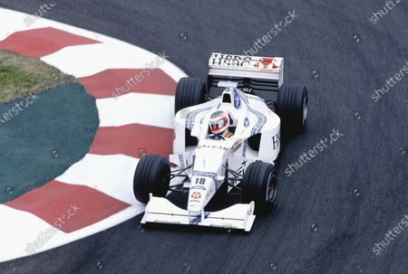 Magny-Cours, France.  26-28 June 1998. Rubens Barrichello (Stewart SF2 Ford). Ref-98 FRA 67. World Copyright - Martyn Elford/LAT Photographic
