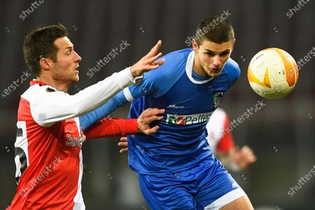 Editorial photo of Soccer Europa League, Klagenfurt, Austria - 10 Dec 2020