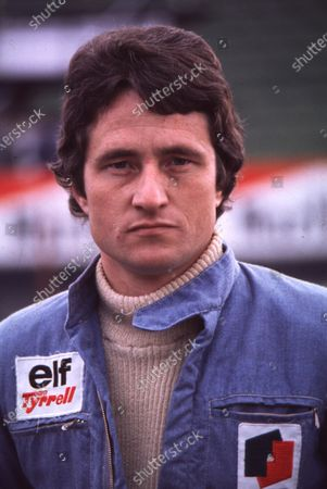 1977 Formula 1 World Championship. Patrick Depailler (Tyrrell-Ford Cosworth). Ref-D2A 14. World - LAT Photographic