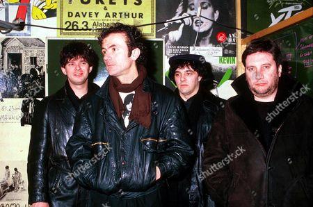 Stranglers - Jean-Jacques Burnel, Hugh Cornwell, Dave Greenfield and Jet Black