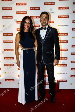 2017 Autosport Awards Grosvenor House Hotel, Park Lane, London. Sunday 3 December 2017. Gordon Shedden and guest. World Copyright: Glenn Dunbar/LAT Images Ref: Digital Image _31I1415