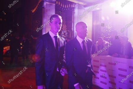 2017 Autosport Awards Grosvenor House Hotel, Park Lane, London. Sunday 3 December 2017. David Brabham and son Sam. World Copyright: Joe Portlock/LAT Images Ref: Digital Image _L5R7621