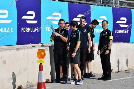 Stock Picture of 2017/2018 FIA Formula E Championship. Riound 1 - Hong Kong, China. Saturday 1 December 2018. Nicolas Prost (FRA), Renault e.Dams, Renault Z.E 17 Photo: Mark Sutton/LAT/Formula E