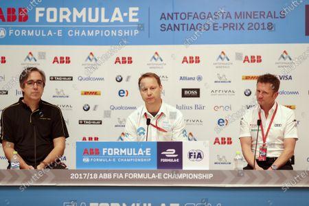 Editorial image of Formula E, Santiago ePrix - 02 Feb 2018
