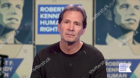 In this screengrab, honoree Dan Schulman accepts the Ripple of Hope Award at the 52nd annual Robert F. Kennedy Jr Ripple of Hope Award gala, honoring modern-day human rights defenders on December 10, 2020 in Various Cities.