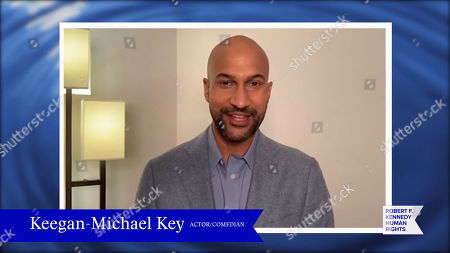 In this screengrab, Keegan-Michael Key speaks at the 52nd annual Robert F. Kennedy Jr Ripple of Hope Award gala, honoring modern-day human rights defenders on December 10, 2020 in Various Cities.