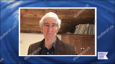 In this screengrab, Sam Waterston speaks at the 52nd annual Robert F. Kennedy Jr Ripple of Hope Award gala, honoring modern-day human rights defenders on December 10, 2020 in Various Cities.