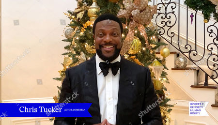 In this screengrab, Chris Tucker speaks at the 52nd annual Robert F. Kennedy Jr Ripple of Hope Award gala, honoring modern-day human rights defenders on December 10, 2020 in Various Cities.