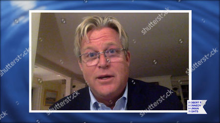 Stock Image of In this screengrab, Edward Kennedy, Jr. speaks at the 52nd annual Robert F. Kennedy Jr Ripple of Hope Award gala, honoring modern-day human rights defenders on December 10, 2020 in Various Cities.