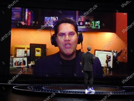 Stock Picture of Reggie Fils-Aime