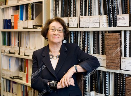 Editorial photo of Baroness Vivien Stern at the ICPS office in Melbourne House, London, Britain - 12 Mar 2010