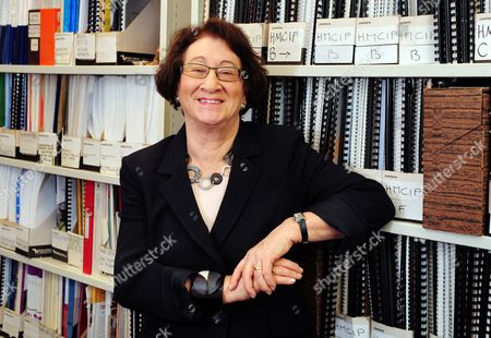 Editorial picture of Baroness Vivien Stern at the ICPS office in Melbourne House, London, Britain - 12 Mar 2010