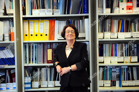 Editorial image of Baroness Vivien Stern at the ICPS office in Melbourne House, London, Britain - 12 Mar 2010
