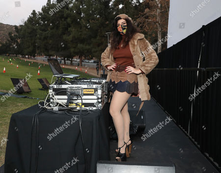 """Stock Image of DJ Daisy O'Dell attends Amazon Studios """"I'm Your Woman"""" Drive In Screening"""