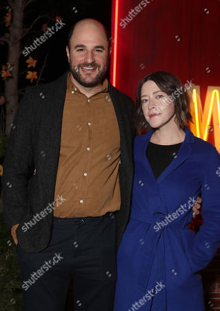 "Producer Jordan Horowitz and Director Julia Hart attend Amazon Studios ""I'm Your Woman"" Drive In Screening"