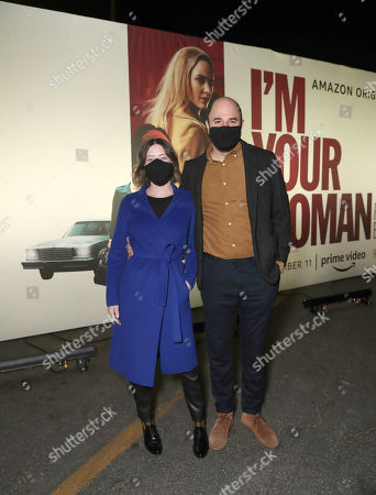 "Director Julia Hart and Producer Jordan Horowitz attend Amazon Studios ""I'm Your Woman"" Drive In Screening"