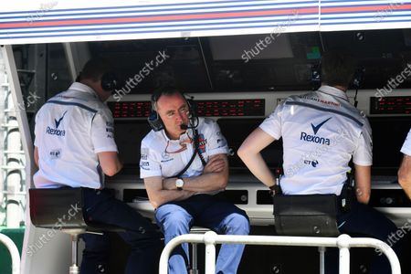 Paddy Lowe (GBR) Williams Shareholder and Technical Director