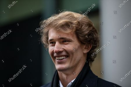 Editorial image of Alexander Zverev at the High Court, Royal Courts of Justice, London, UK - 10 Dec 2020