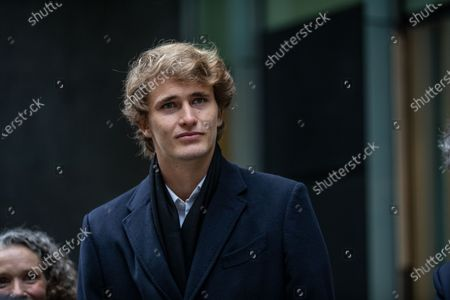 Editorial picture of Alexander Zverev at the High Court, Royal Courts of Justice, London, UK - 10 Dec 2020