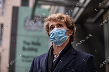 """Stock Image of German tennis star Alexander Zverev at the High Court in a legal dispute with Patricio Apey founder of London-based sports management company which began representing him when he was a teenager. Zverev, 23, has sued Ace Group International and made an """"unlawful restraint of trade"""" claim"""