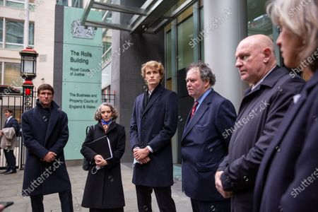 Editorial photo of Alexander Zverev at the High Court, Royal Courts of Justice, London, UK - 10 Dec 2020
