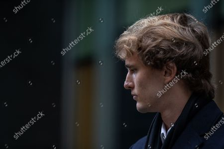 """German tennis star Alexander Zverev at the High Court in a legal dispute with Patricio Apey founder of London-based sports management company which began representing him when he was a teenager. Zverev, 23, has sued Ace Group International and made an """"unlawful restraint of trade"""" claim"""