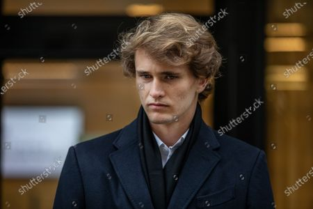 German tennis star Alexander Zverev at the High Court in a legal dispute with Patricio Apey founder of London-based sports management company which began representing him when he was a teenager. Zverev, 23, has sued Ace Group International and made an 'unlawful restraint of trade' claim